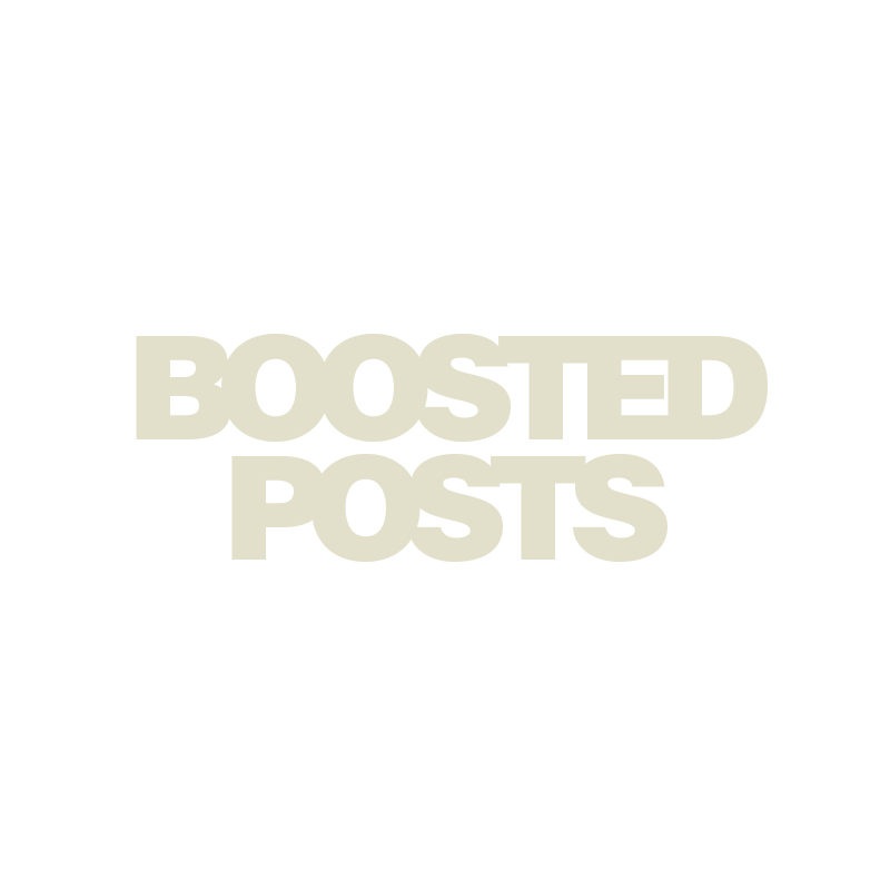 Boosted Posts